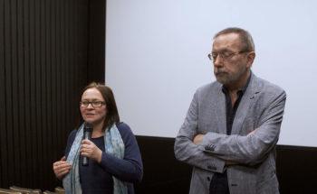"""Materiały video z festiwalu """"Interpretacje"""" – wywiad z Beatą Dzianowicz i Andrzejem Fidykiem"""