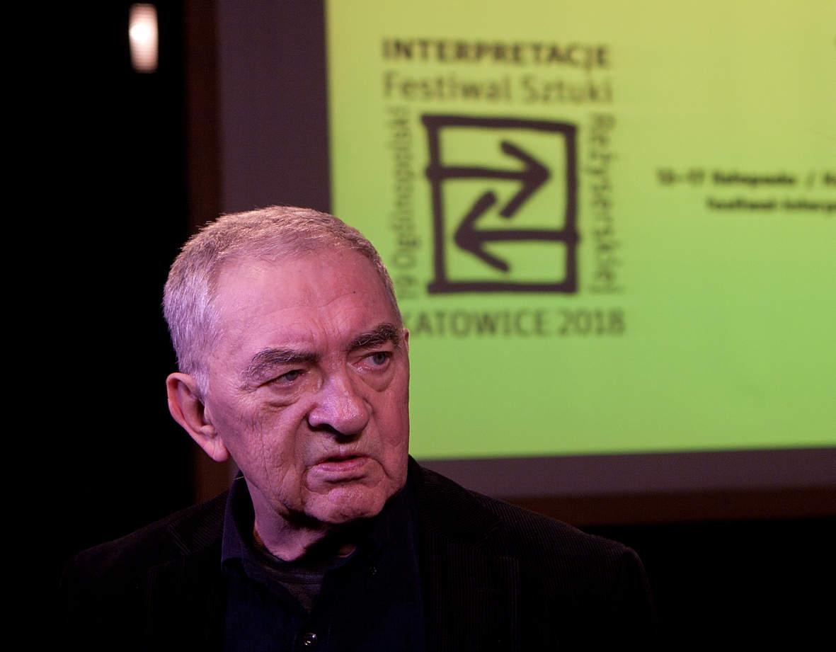 """Materiały video z festiwalu """"Interpretacje"""" – wywiad z Jerzym Trelą"""