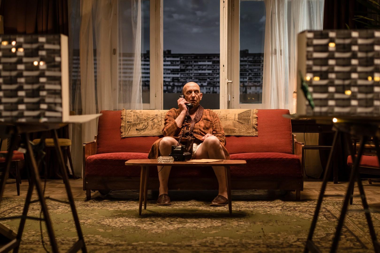 """""""Falowiec"""". Spektakl Teatru Telewizji zrealizowany przez WFDiF w ramach projektu Teatroteka"""